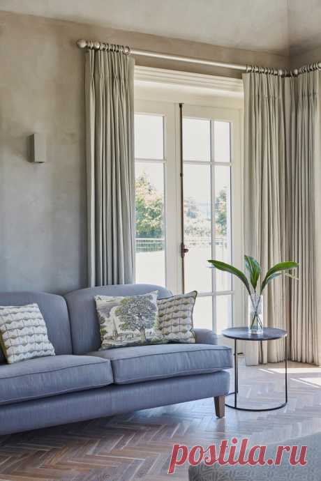 С чем и как сочетать шторы в интерьере | Ковры, шторы и домашний текстиль | Стили и оформление интерьера | Идеи ремонта