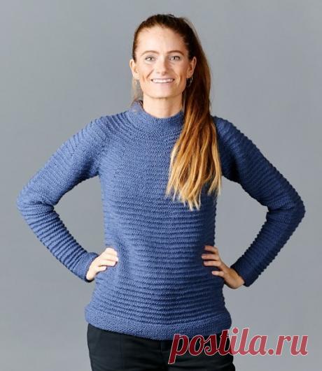 Вязанный свитер Rebecca | ДОМОСЕДКА