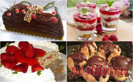 25 desserts, most popular in the world