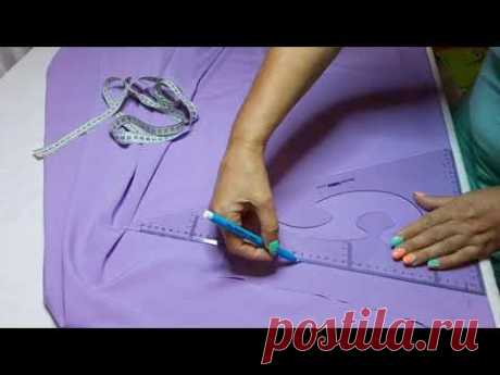 Как сшить нарядное платье в пол на любую фигуру