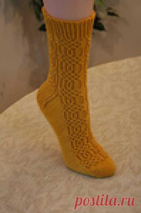 Вязаные носки «Bob and Weave»