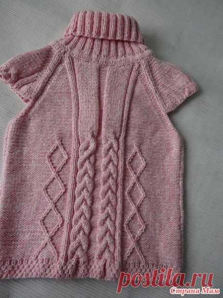 Теплая туничка для девочки 3-4 года - Вязание для детей - Страна Мам