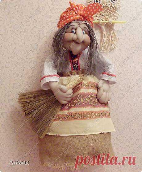 МК.Кукла-домашка от Ликмы.