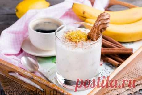 Рецепт крема из бананов и йогурта