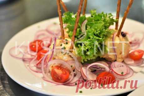 Овощной салат с фрикадельками. Рецепт с фото • Кушать нет