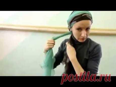 15 способов завязывания шифонового шарфа. Часть 2