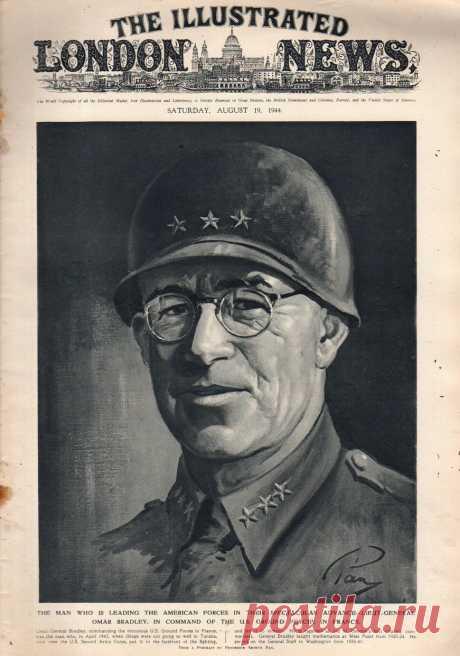 1944.08.19 - The Illustrated London News | Sovetika.ru - обложки старых журналов
