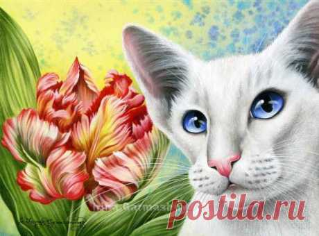 Las gatas botánico 2