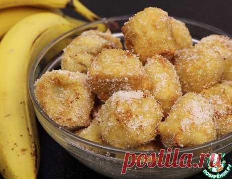 Бананы в тесте – кулинарный рецепт