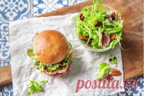 Сэндвич с индейкой и клюквенным соусом рецепт с фото