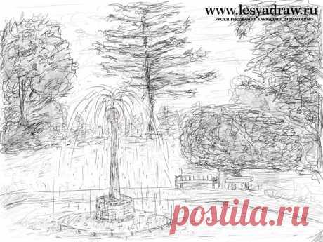 Как рисовать природу(пейзажи,цветы,растения,деревья)