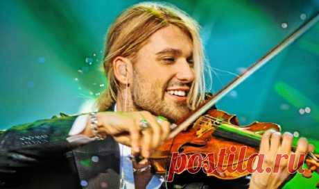 Концерты Дэвида Гарретта