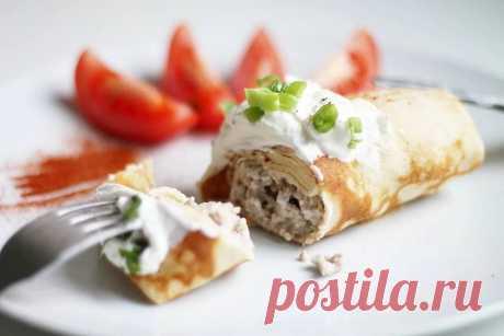 Вкусные варианты мясной начинки для блинов от Lisa.ru