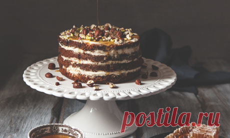 Медовый торт с орехами | HomeBaked