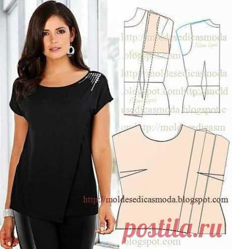 We sew beautiful blouses. Patterns. \/ Handwork era