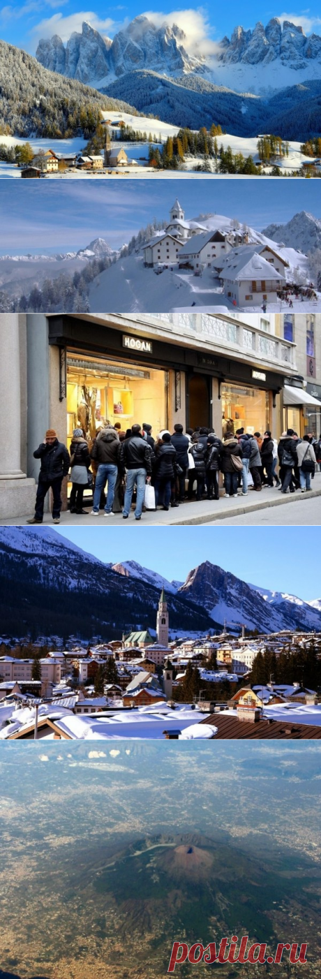 Туризм зимой в Италии: чем заняться и где отдохнуть - обзор Италии