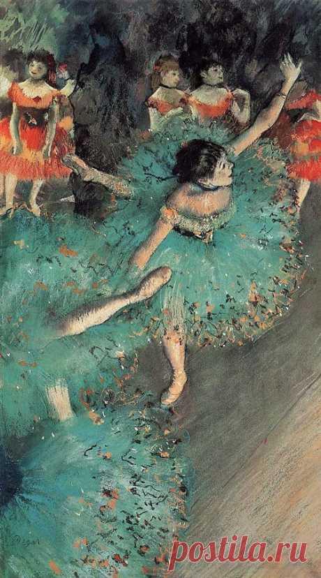 Degas, the green dancer