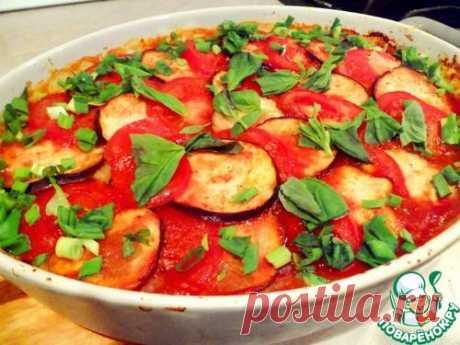Ленивые грибные вареники из картофельного теста, запеченные под овощной шубой - кулинарный рецепт