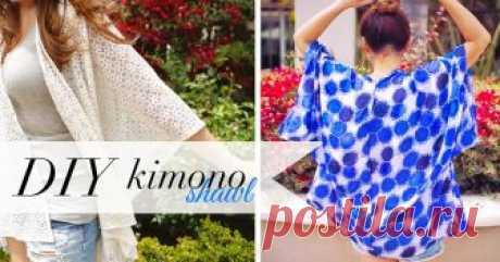 Кимоно-накидка своими руками кимоно-накидка, своими руками, накидка в стиле бохо,