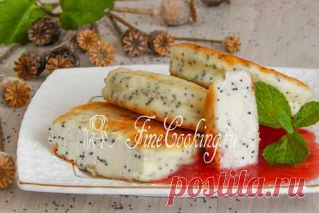 Сырники с маком Сырники - это очень вкусное блюдо для любителей творога.