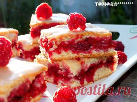 Печенье с малиной интересный рецепт с фотографиями