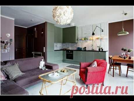 Гостиная с Кухней / 30 Красивых Идей