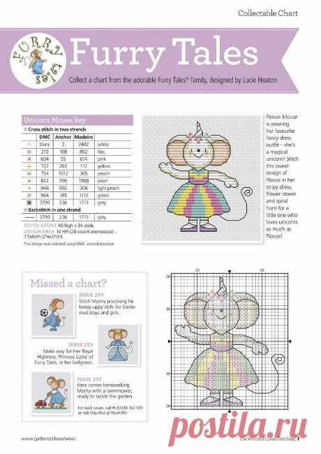 The World of Cross Stitching №295 2020