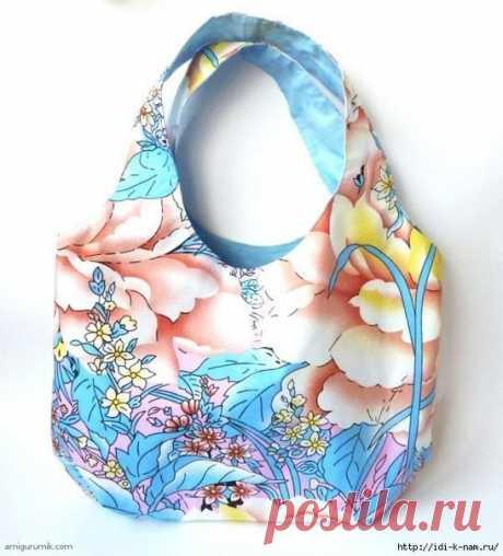 Пляжная летняя сумка