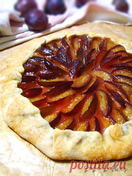 Вкуснейший пирог со сливами