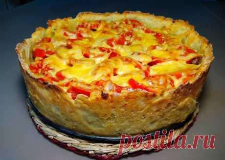 (1) Открытый мясной пирог с картофельным тестом Автор рецепта Готовить просто - Cookpad