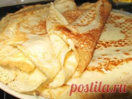 Scalded pancakes Gentle