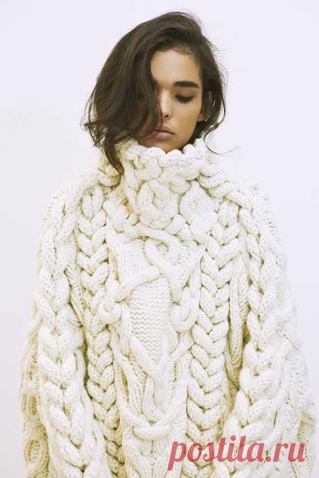 100 модных моделей: Вязание Осень-Зима 2017-2018 года на фото