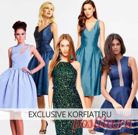 Коллекция выкроек платьев для выпускного бала от А. Корфиати