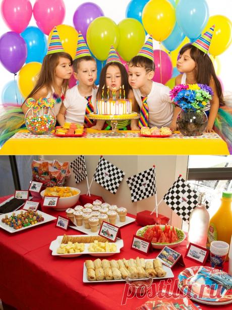 Как накрыть стол и устроить потрясающий день рождения ребенку — Дом и Сад