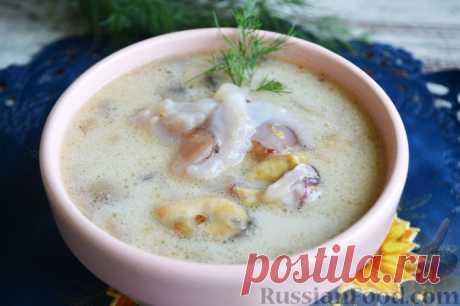 Суп молочный, 30 лучших рецептов