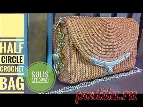 Crochet || party crochet bag || oval shape