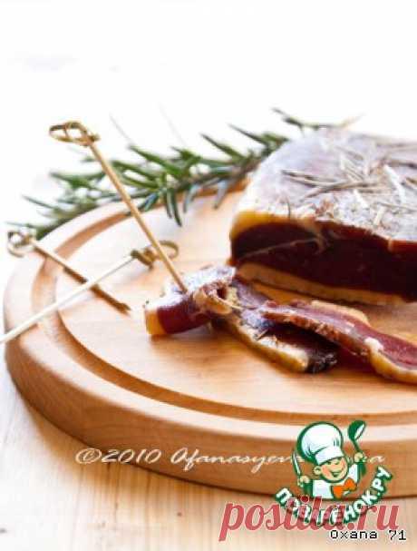 """Вяленая утиная грудка """"Magret de canard"""" - кулинарный рецепт"""