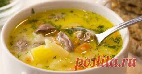 Сырный суп с сердечками: пальчики оближешь от такой вкуснятины! Что это за обед, если он не начинается с чего-то жиденького. Будь то борщ, окрошка или самый обычный суп,первое блюдоотвечает за все следующие кушанья. Поэтому суп должен быть...