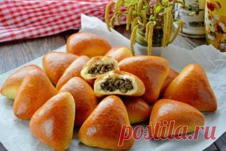 Простые, но очень вкусные пирожки на кефирном тесте | Кулинарушка - Вкусные Рецепты