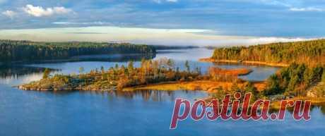 Ладожское озеро. Автор фото: Фёдор Лашков.