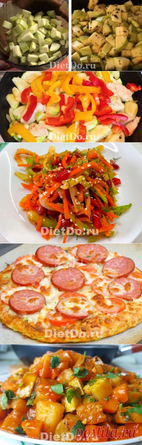 Что приготовить из кабачков быстро и вкусно на сковороде — 10 рецептов