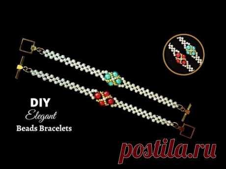 Learn how to bead. Beading basic instructions . DIY beaded bracelets