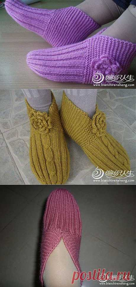 Следочки-интересный способ вязания.