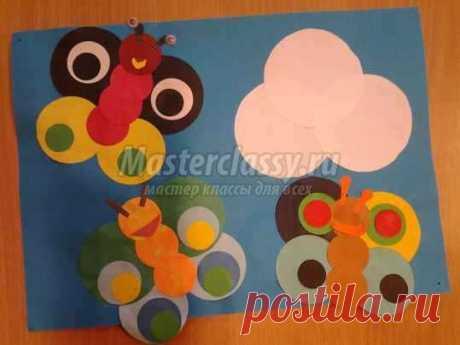 Аппликации из цветной бумаги для детей: 100 фото и идеи на любой вкус
