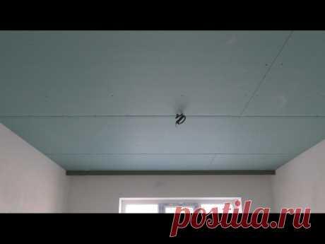 Посты наших подписчиков   Как самому собрать потолок с нишей под карниз из гипсокартона