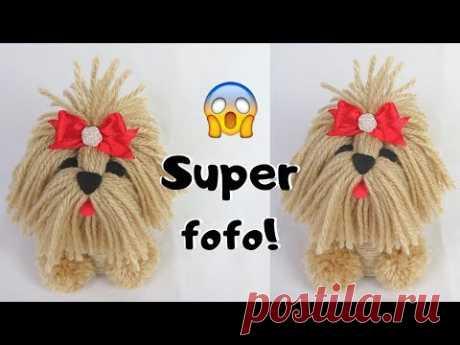 Como fazer cachorrinho de lã com rolo de papel higiênico | Pricity