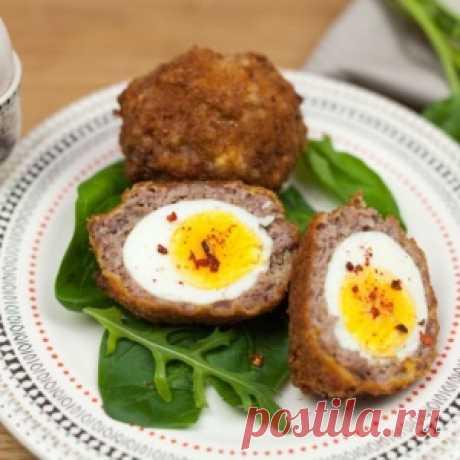 Яйцо по- шотландски - оригинальная закуска