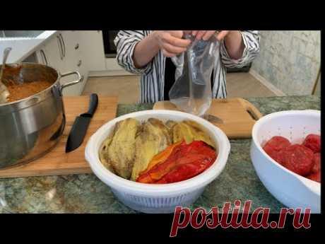 Как заморозить баклажаны, перцы, помидоры и икру из них