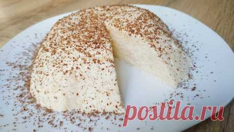 Десерт «Загадка» за 5 минут из 2-х ингредиентов