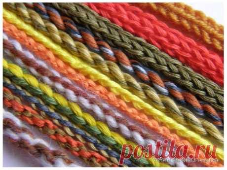 Ways of weaving of cords the Blog about needlework, an embroidery a cross and a smooth surface, sewing, a patchwork...
